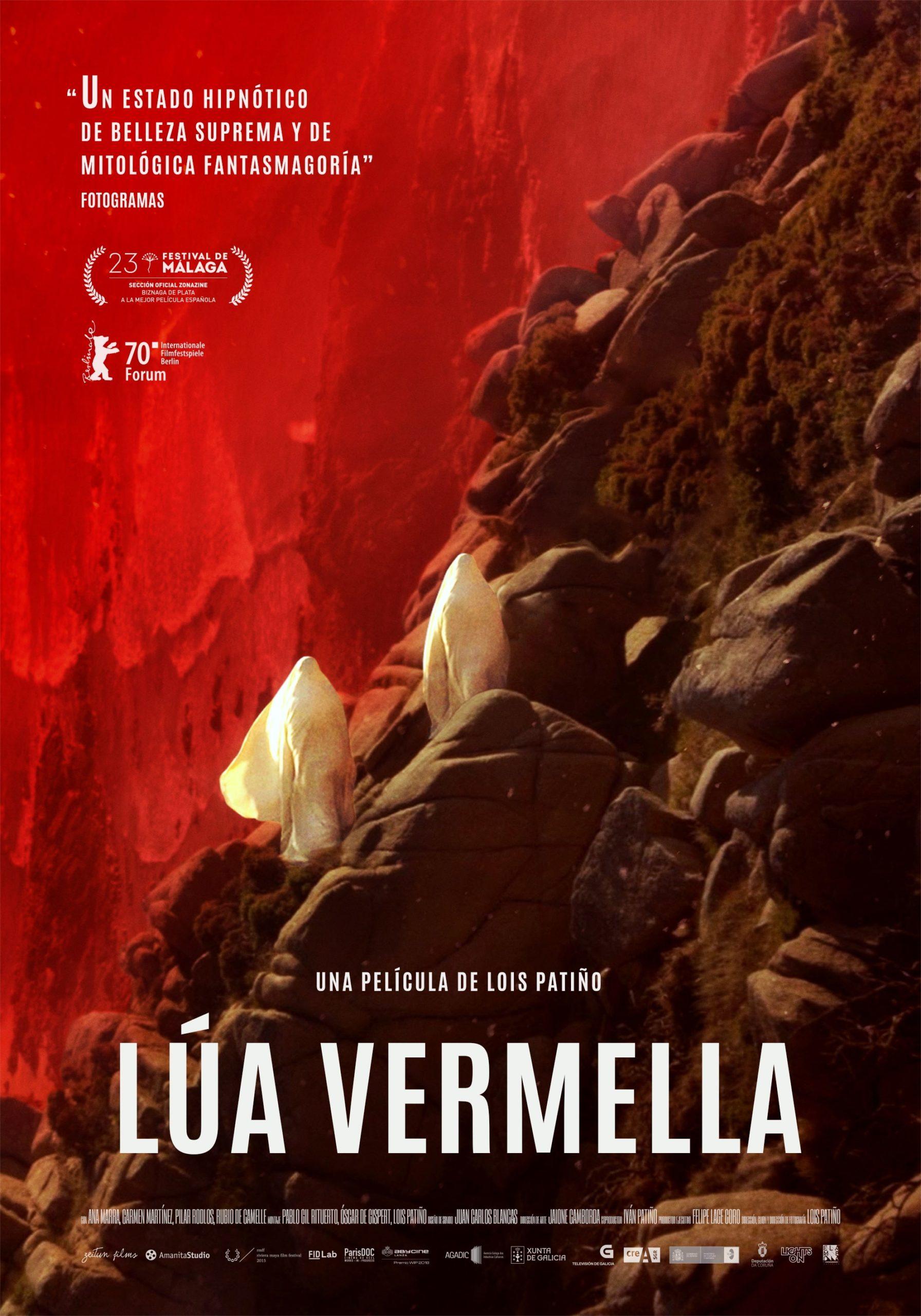 Lúa Vermella Poster España