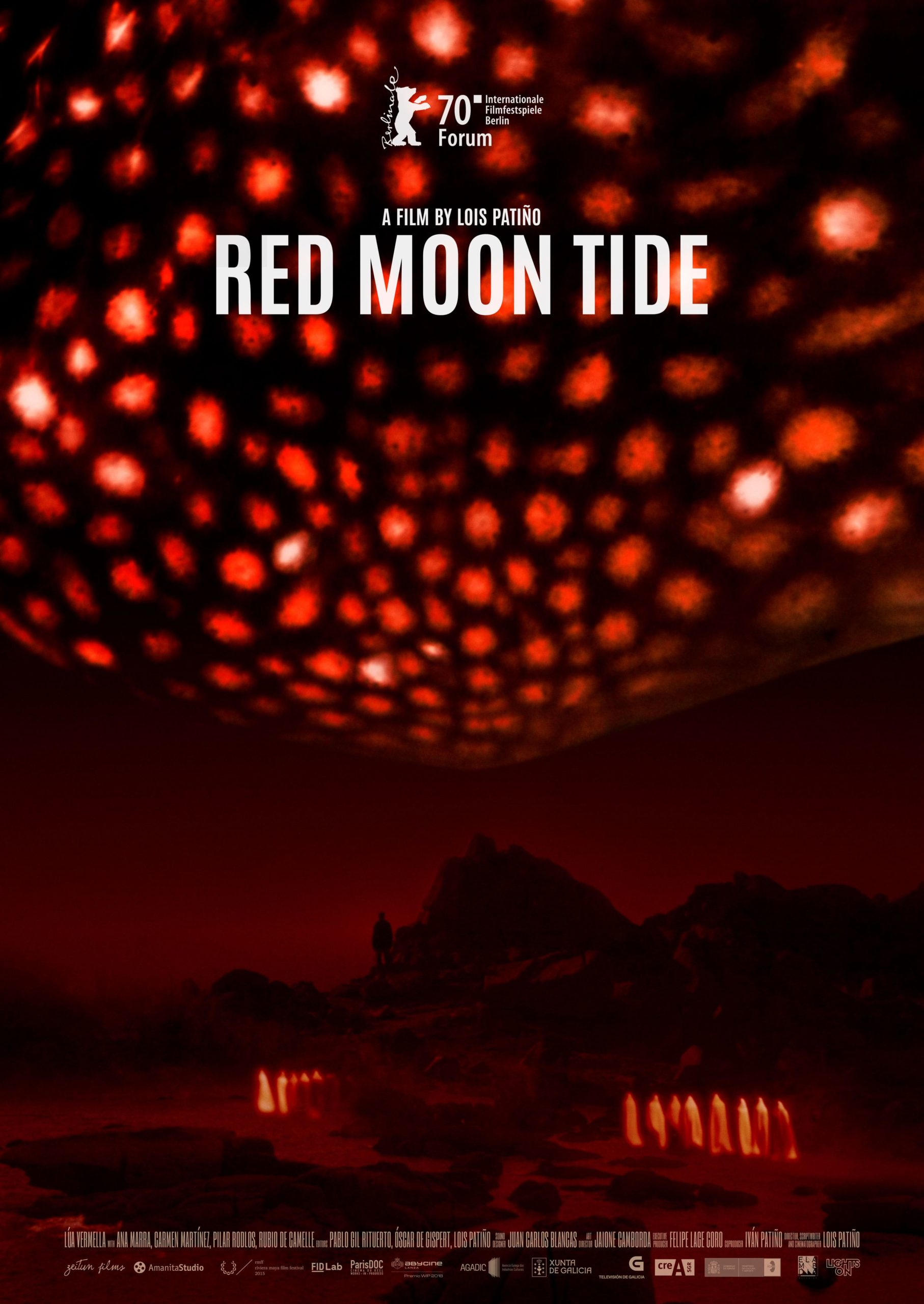 Red Moon Tide Poster